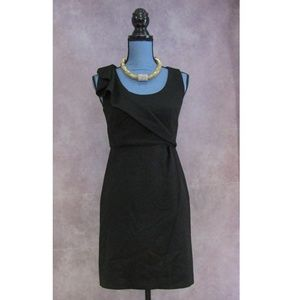 LOFT Petites Little Black Dress LBD Size 2P